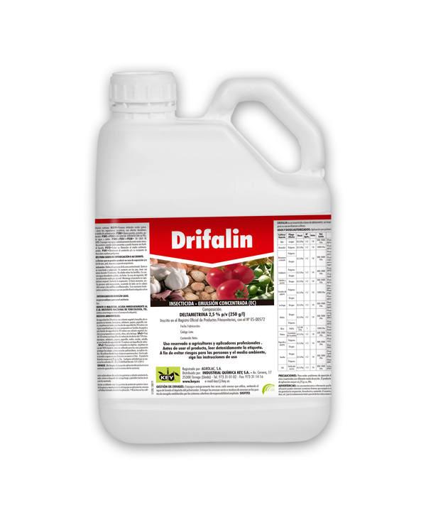 Drifalin insecticida con Deltametrina