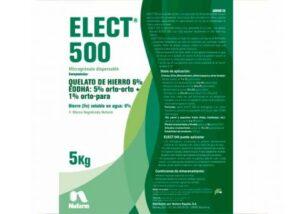 ELECT® 500 es un quelato de hierro 5% orto-orto