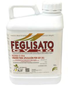Feglisato herbicida a base de glifosato