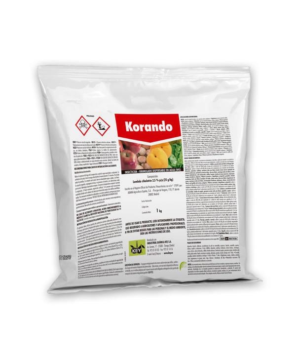 Korando insecticida con Lambda cihalotrin