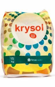 KRYSOL, es un produto hidrosoluble optimizador de los diferentes estados fenológicos de la planta: