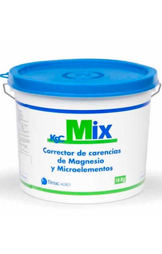 KSC MIX es un corrector de carencias, bioestimulante